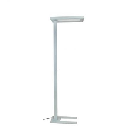 Brumberg LED floor lamp 65W 4000K 12000lm silver