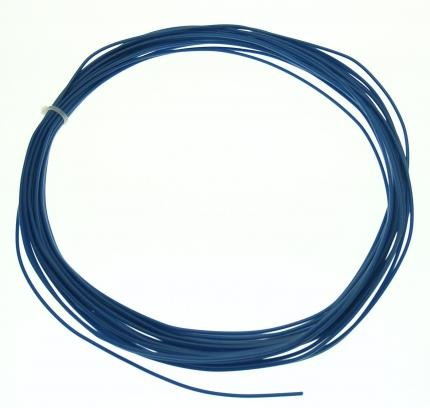 Litze H05V2-U 1x0,75mm² starr blue 15m Ring