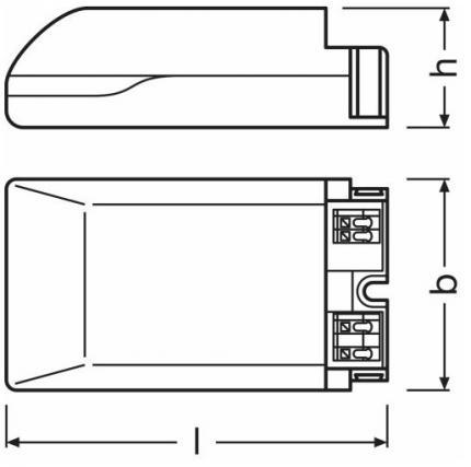 ECG-LED driver OTi DALI 15/220-240/1A0 LT2