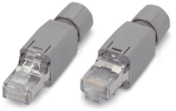 WAGO ETHERNET RJ-45, IP20 10/100 Mbit/s feldkonfektionierbar
