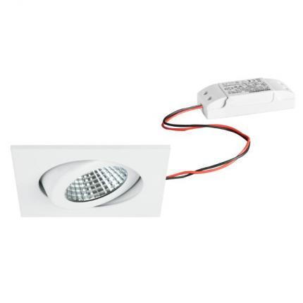 Brumberg LED-Einbaustrahler 6W 230V quadratisch weiß