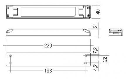 Tridonic LED-Treiber LCU 35W 12V TOP SR