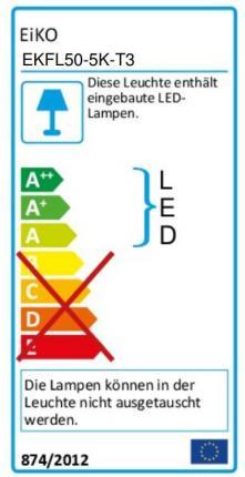 LED spotlight with motion detector EiKO-Züblin
