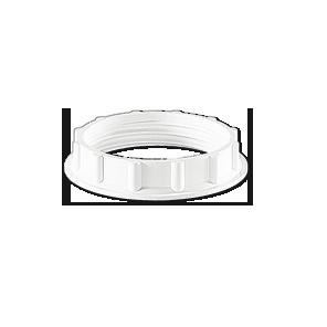Shade ring for lampholders E14, E22, E17; thread 28 x 2 mm