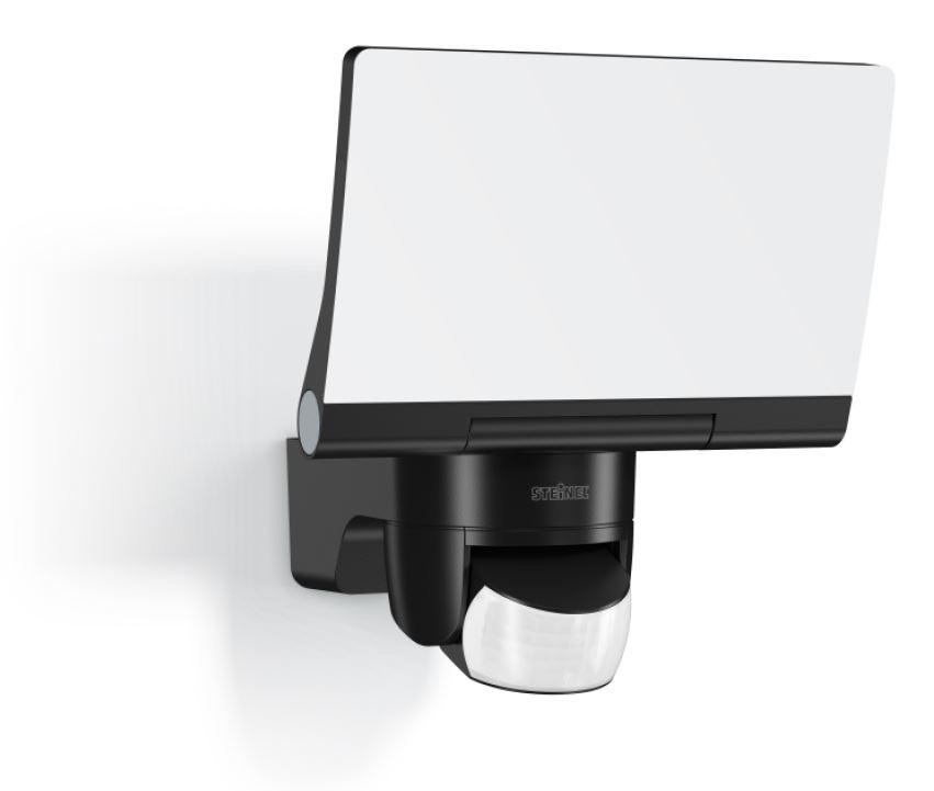 Steinel LED-Sensorstrahler XLED Home 2 3000K schwarz