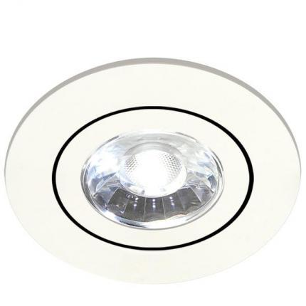 Brumberg LED recessed spotlight 350mA 6W round white 4000K
