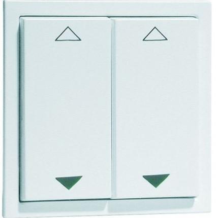 PEHA Light Management Easyclick EnOcean Wall Transmitter NOVA 4-Channel UP/DOWN Alu