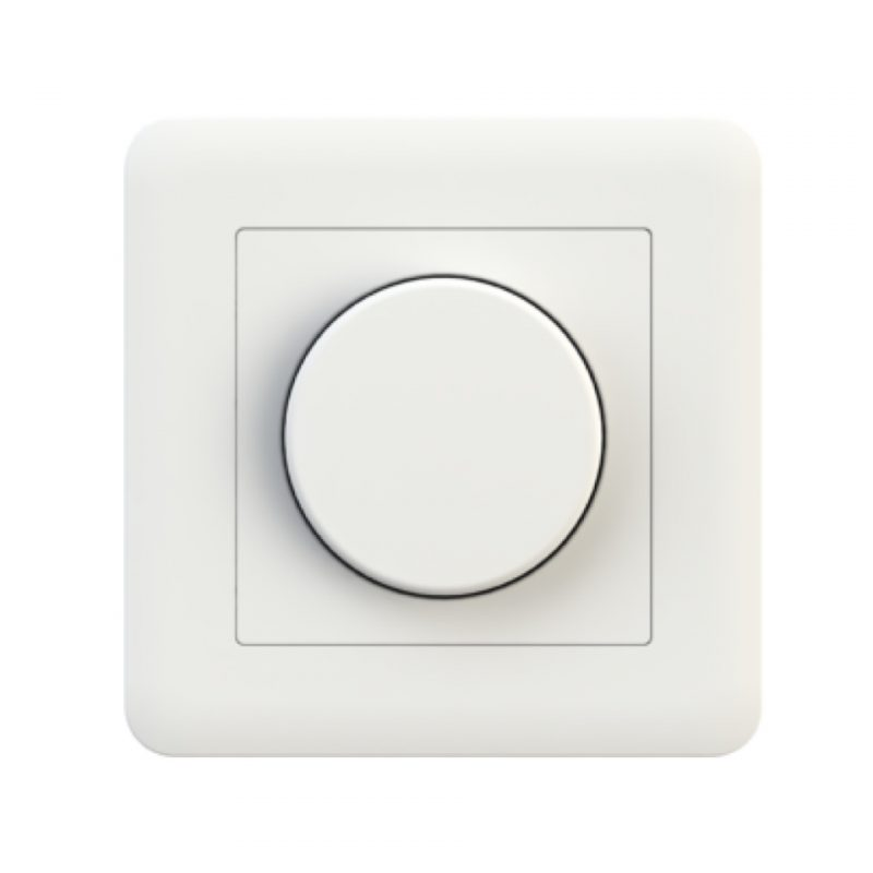 Aimotion Trailing edge rotary dimmer 200W with push button connection