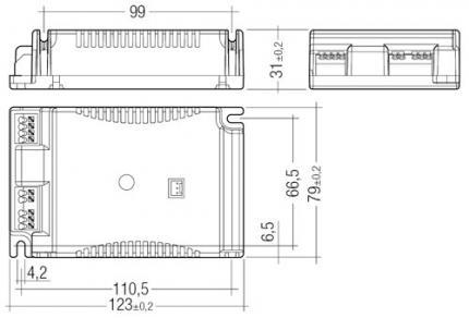 Tridonic PCA 1x55 T5c ECO