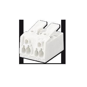 2-pole pushwire terminal blocks