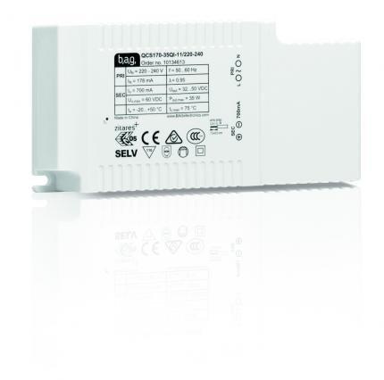 BAG electronics LED-Treiber QCS170-35QI-11/220-240