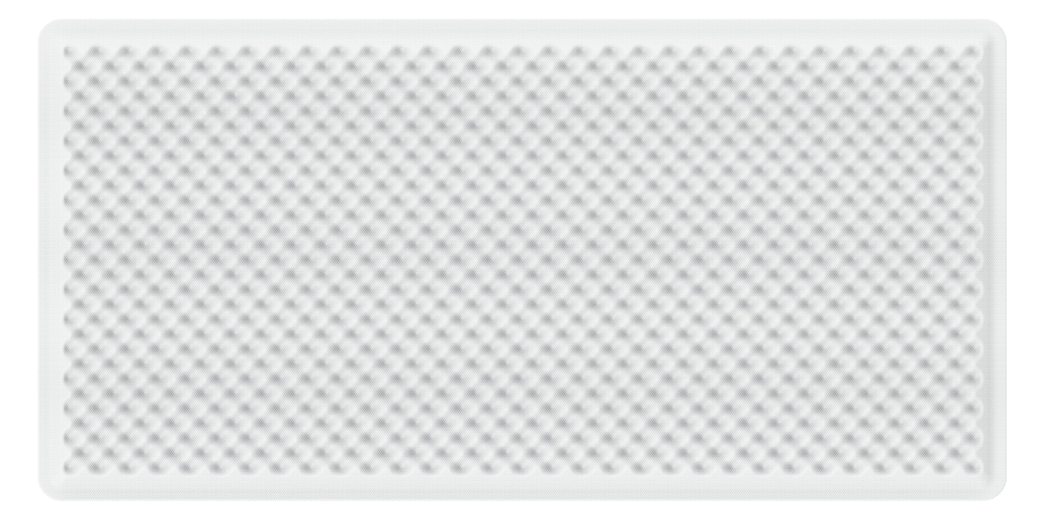 Artemide Akustikpanel Schallabsorbierend EGGBOARD WALL SUSP./CEILING ACOUSTIC PANEL 160x80 WHITE