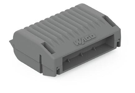 WAGO Gelbox mit Gel ohne Klemmen Größe 2 grau