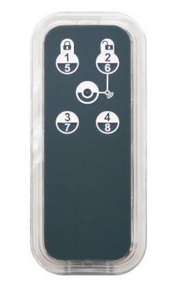 Zipato Smart Home Fernbedienung Keyfob 5 Remote