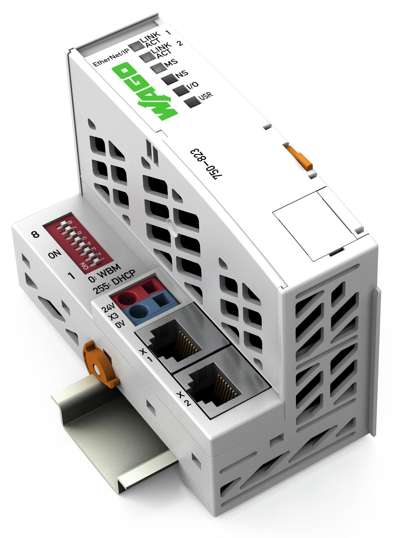 WAGO Controller EtherNet/IP 4. Gen. 2x ETHERNET ECO
