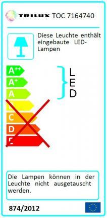 Trilux LED-Panel Siella G5 M84 OTA22 LED3600-840 schaltbar 33W 4000K