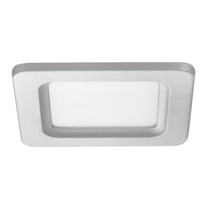 Brumberg LED-Einbau-Panel 6W 24V quadratisch silber