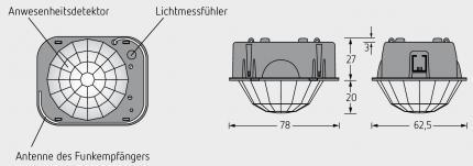 BAG LIGHTGATE plus SENSOR LGS-RPL/S
