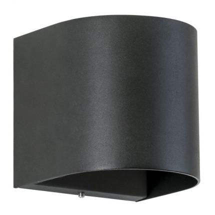 Brumberg LED-Wandanbauleuchte 10W 230V strukturschwarz IP54