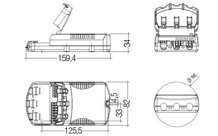 Tridonic PC 1/2x18 TC PRO sr+