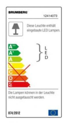 Brumberg LED-Einbaudownlight 18Watt IP20 1815 Lumen