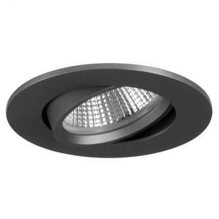 Brumberg LED-Einbaustrahler 350mA 5,5W dim2warm rund titan