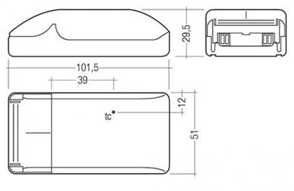 Tridonic LED-Treiber LCBI 14W 700mA BASIC PH-CUT SR ADV