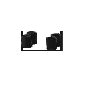 2-pole connectors