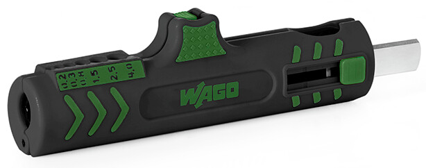WAGO Universal cable stripper for diameter 8 mm to 13 mm