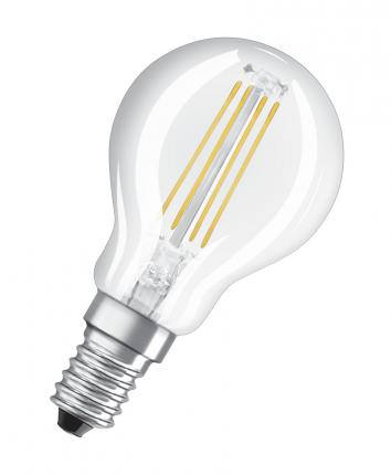 Osram LED RELAX and ACTIVE CLASSIC P 40 CL 4 W/2700K E14