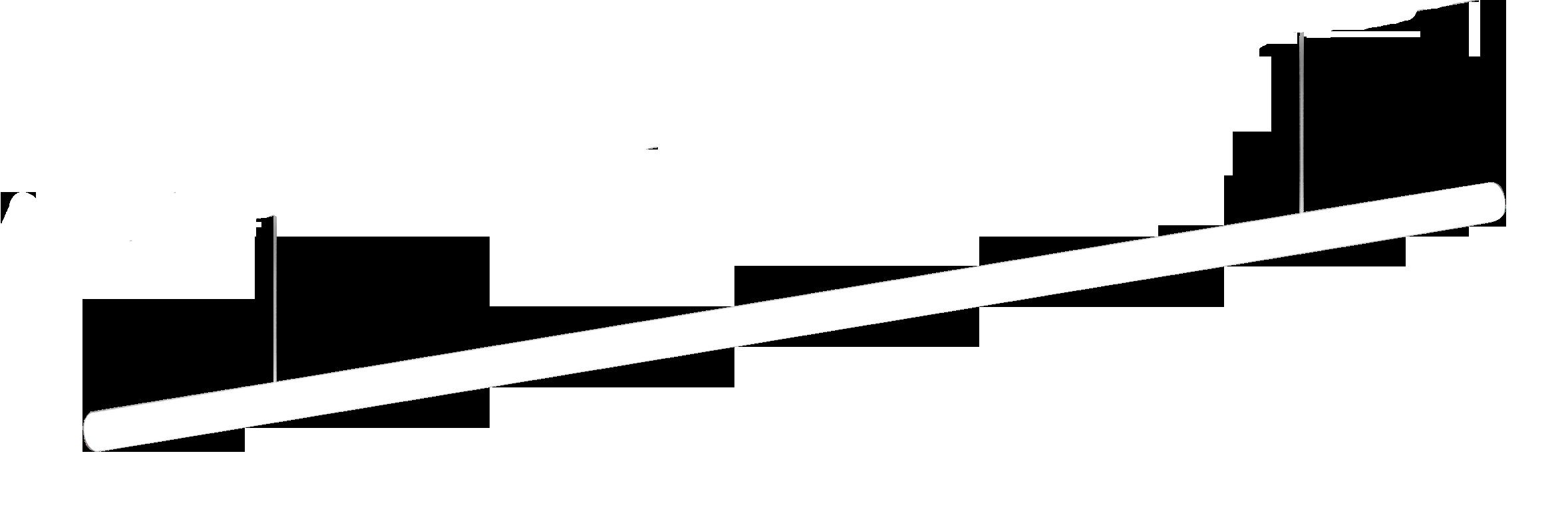 Artemide LED Light system ALPHABET OF LIGHT AoL SYSTEM S LIN.180 MAST. TERM. 3500K
