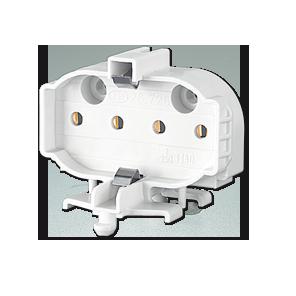 BJB Lampenfassung 2GX11 für CFL/DULUX L HE 26.726.4907.50