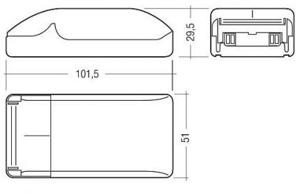 Tridonic EVG TE-0070 C101