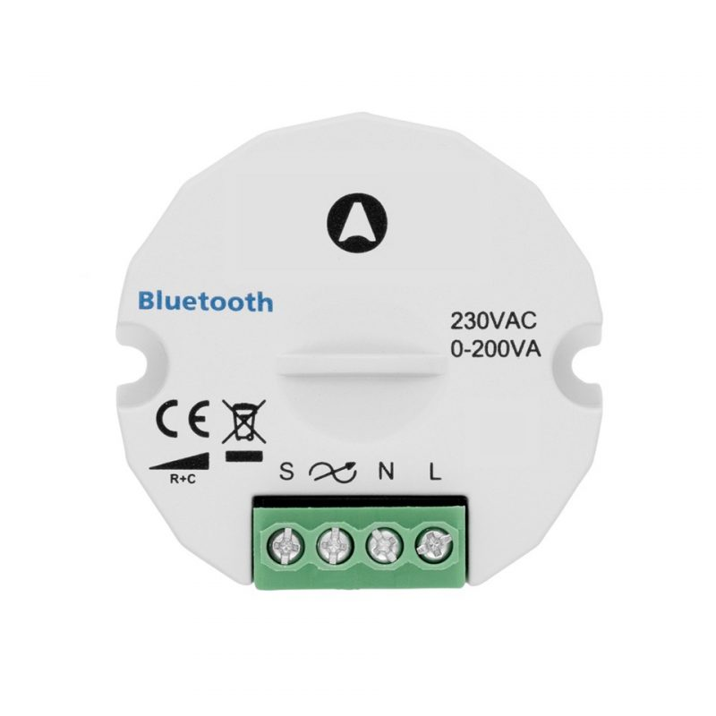 Aimotion 230V Trailing edge dimmer 200W with push button connection