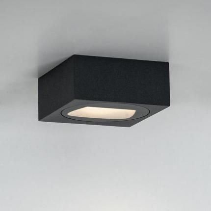 Brumberg LED wall surface mounted light QUADER, IP65, direct