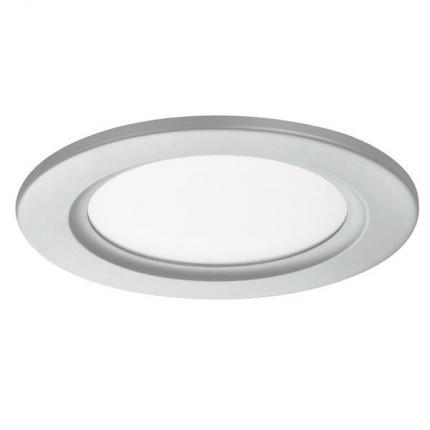 Brumberg LED-Einbau-Panel 10W 24V 3000K silber