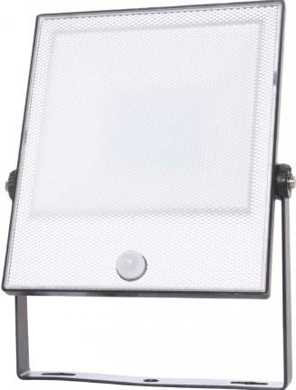 EiKO LED-Sensorstrahler Floodlight CAS PIR 50W 220-240VAC 5000K 5000lm IP65