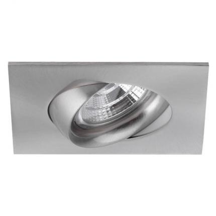 Brumberg LED-Einbaustrahler 350mA 5,5W quadratisch nickel