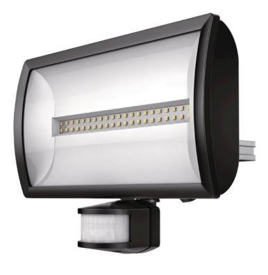 Theben LED-Sensorstrahler 30W 4000K 2250lm theLeda EC30 schwarz