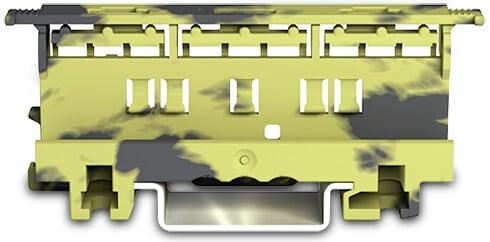 WAGO Befestigungsadapter Serie 221 - 4 mm² grau-gelb