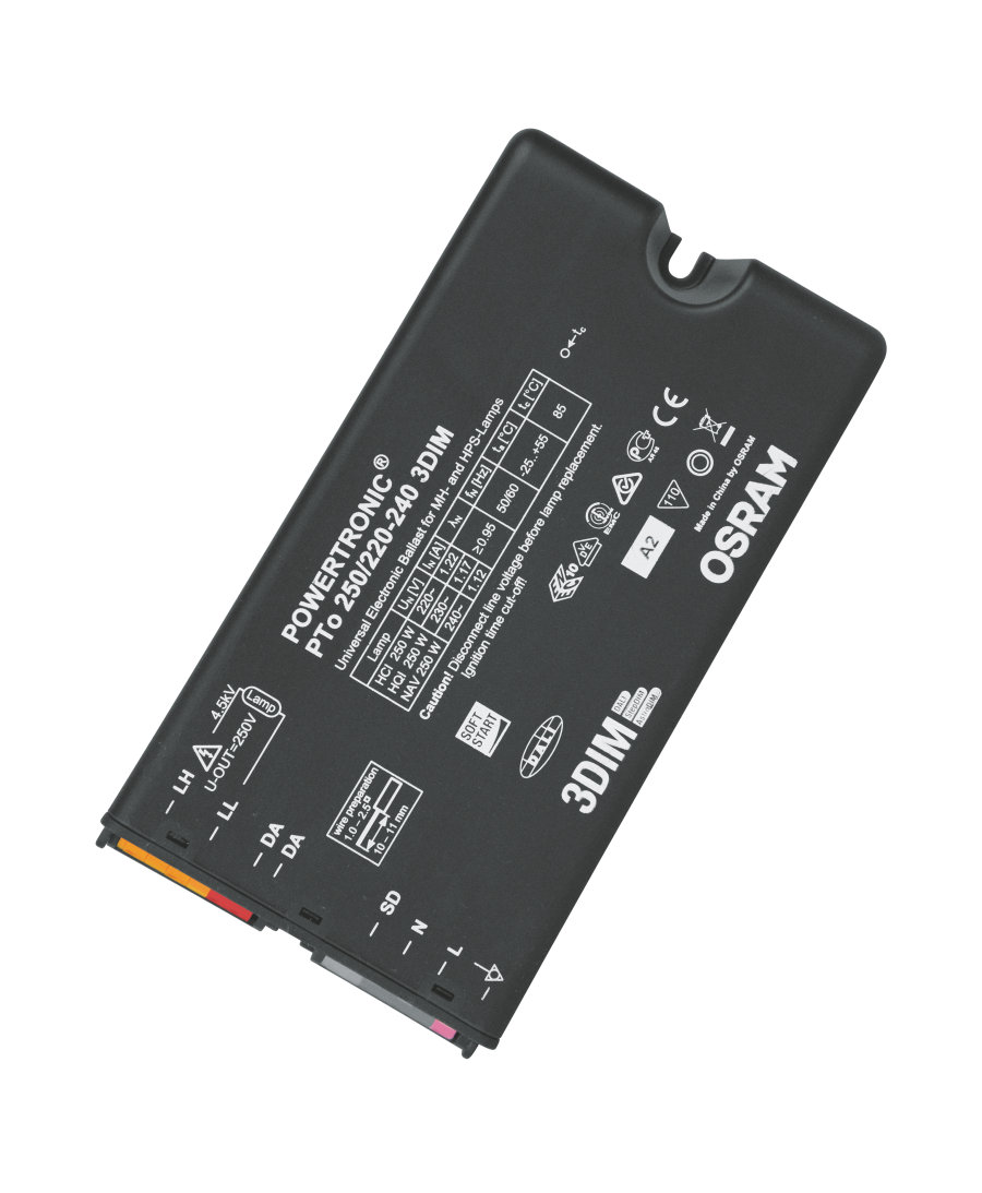 HID EVG OSRAM PTo 250/220…240 3DIM