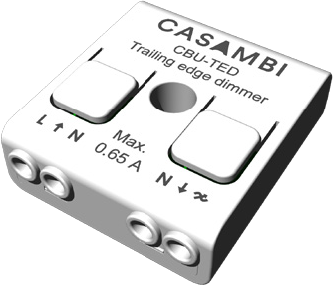 Lighting control via Bluetooth and App Casambi CBU-TED