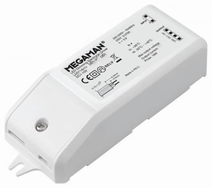 MEGAMAN LED driver DC20V-8W-C410mA dimmable DC1-