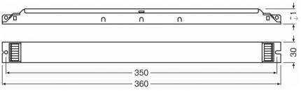 FL EVG OSRAM QT 1x58/220-240 DIM