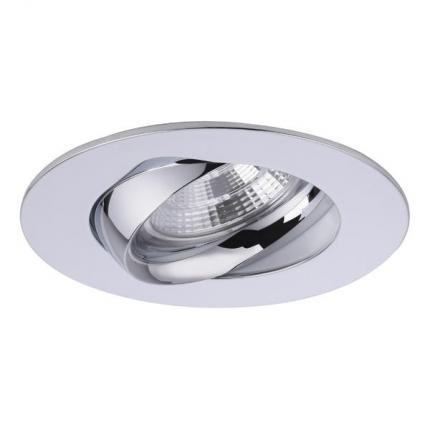 Brumberg LED-Einbaustrahler 350mA 5,5W rund chrom