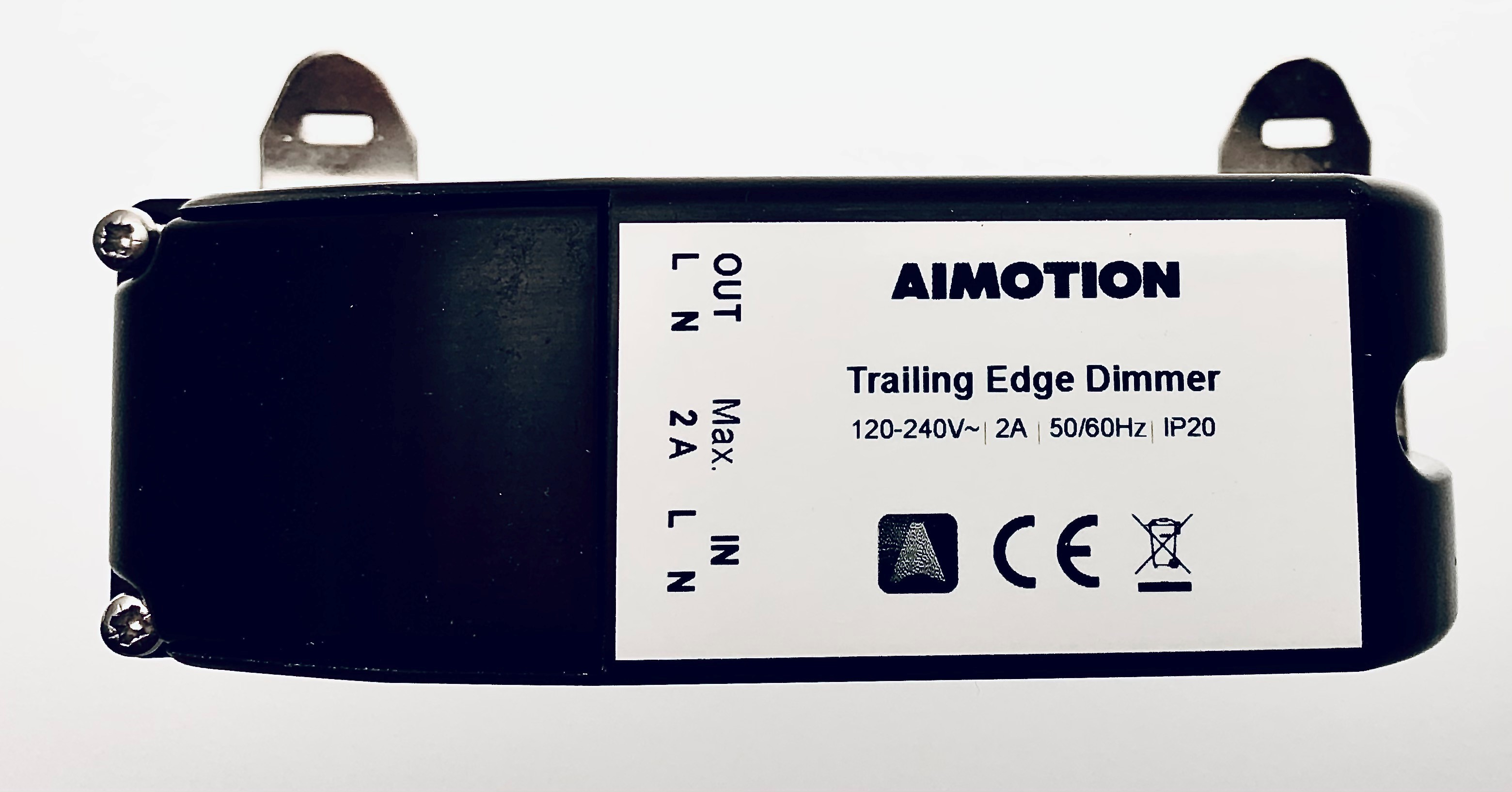 Aimotion 230V  Trailing edge dimmer 460W, mounting in switch cabinet / din rail (top hat rail)