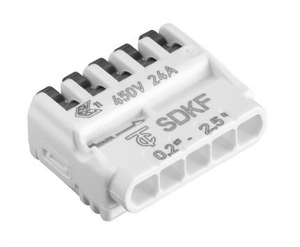 Verbindungsklemme Electro Terminal SDKF 5