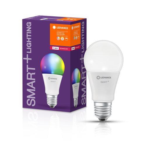 LEDVANCE SMART+ CLASSIC MULTICOLOUR 60 10 W E27