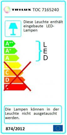 Trilux LED-Panel Siella G5 M84 OTA19 LED3400-830 schaltbar 33W 3000K