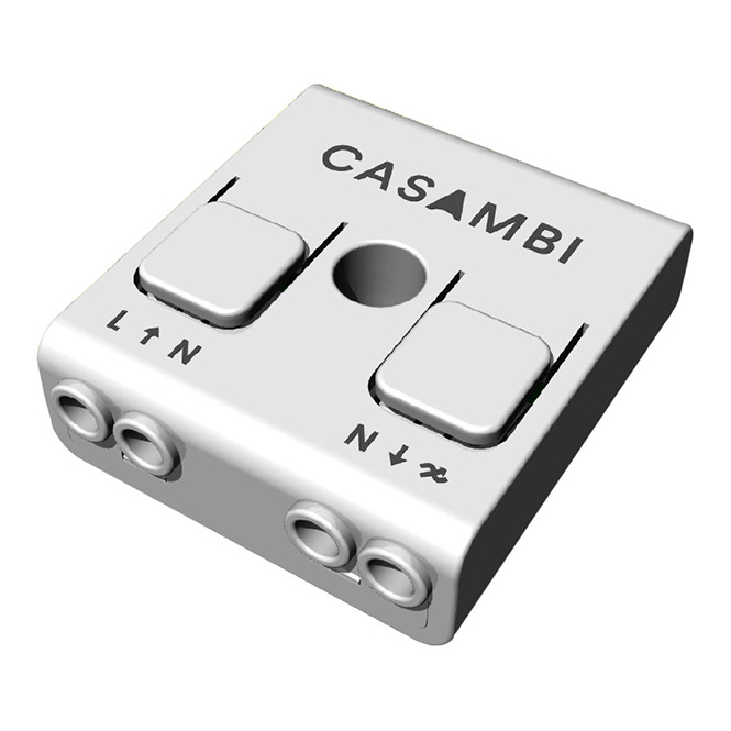 Lighting control via Bluetooth and App Casambi CBU-TED